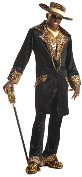 Adult Supa Mac Daddy Suit Costume