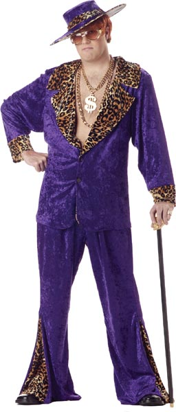 Plus Size Pimp Daddy Costume