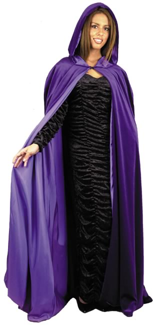 Adult Hooded Cape Costume
