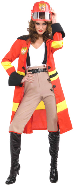 Hot Stuff Fire Chief Costume