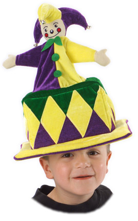 Child's Jack in the Box Hat