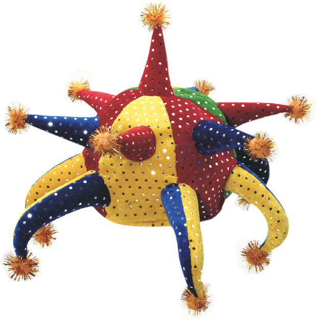 Colorful Jester Hat