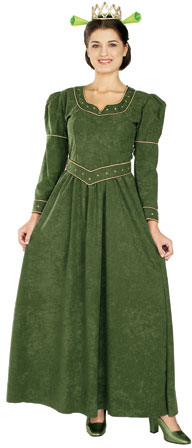 Adult DLX Princess Fiona Costume