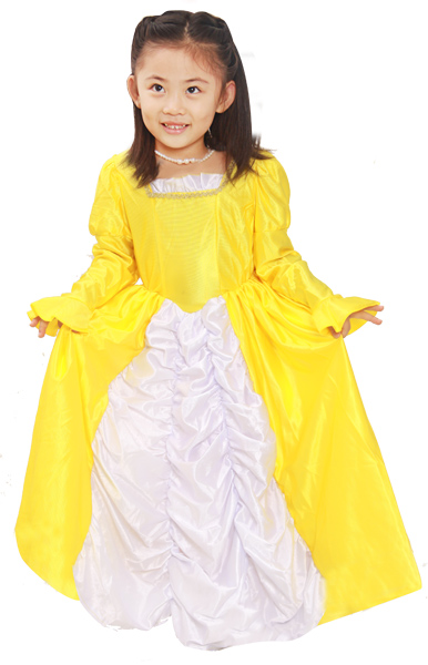Child's Belle At The Ball Costume
