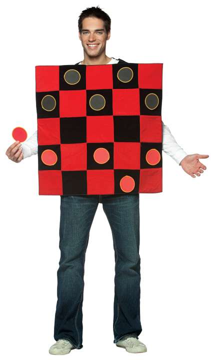 Adult Checker Board Costume
