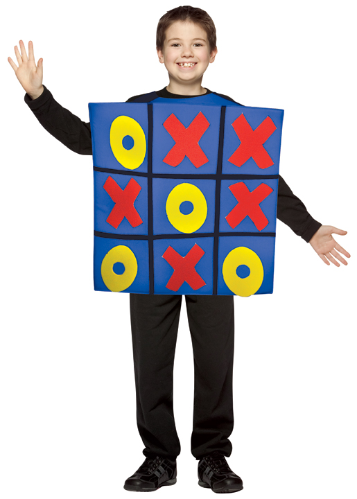 Child's Tic Tac Toe Costume