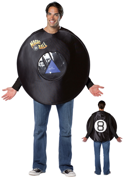 Adult Magic 8 Ball Costume