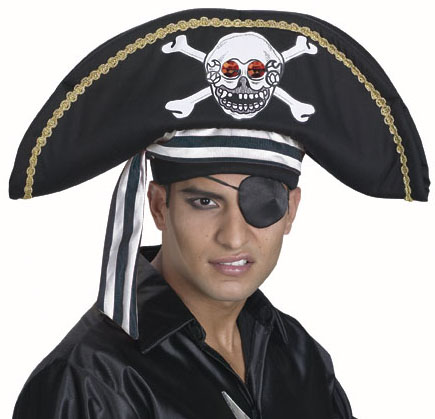 Adult Spooky Pirate Hat