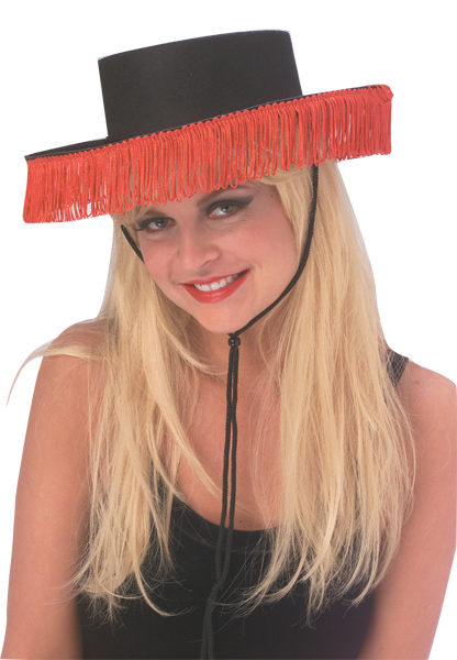 Spanish Hat with Fringe