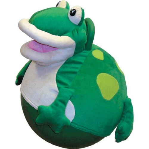 Hop-Along Plush Frog Hop Ball Hopper