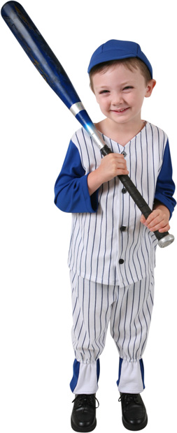 Toddler Baseball Costume