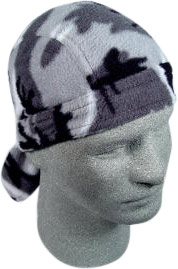 Urban Camo Fleece Skull Cap