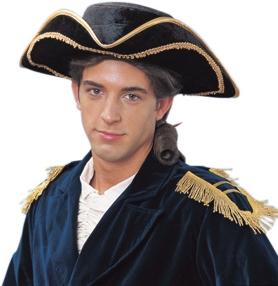 Adult Deluxe Tricorn Hat