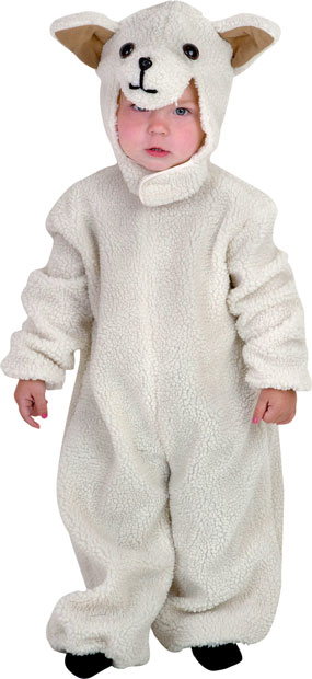 Toddler Deluxe Lamb Costume