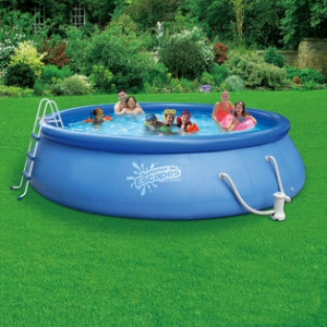 "15' x 42"" Inflatable Quick Set Pool Set"