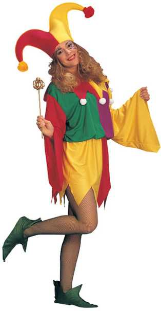 Adult Kings Jester Costume
