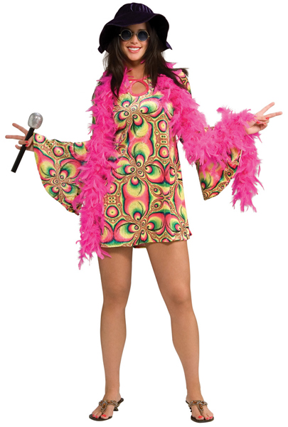 Fabulous Women's Hippie Costume