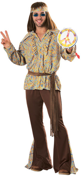 Men's Mod Hippie Costume