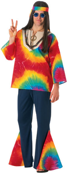 Ridiculous Hippie Threads Men's Costume