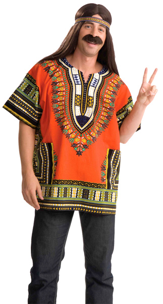 Hippie Dashiki Shirt Costume