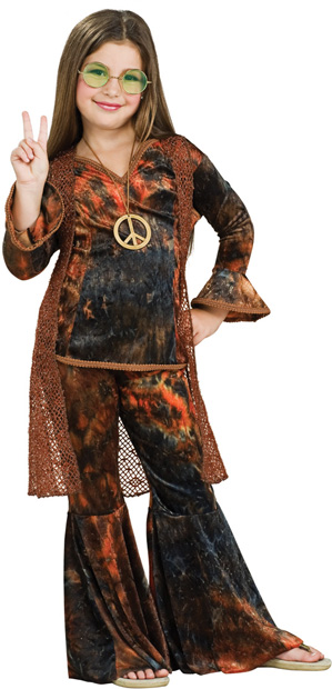 Child's Woodstock Diva Costume