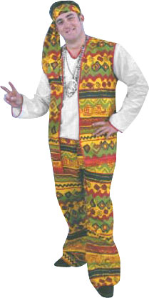 Adult Men's Hippie Costume
