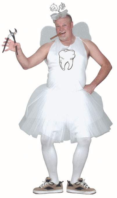 Plus Size Male Tooth Fairy Costume