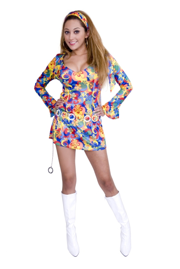 Teen Flower Child's Costume