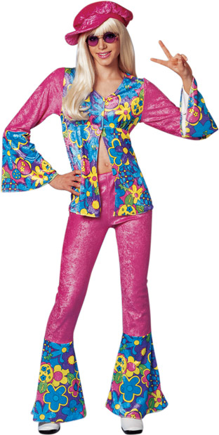 Teen Flower Power Costume