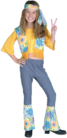 Child's Hippie Flower Child Costume