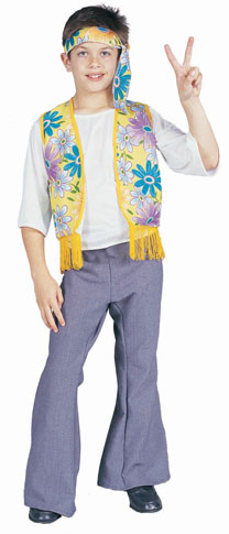Child's Hippie Flower Child Boy Costume