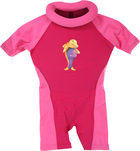 Swimsafe Floatation Suit Pink Size 3/4 - 26 - 40 lbs