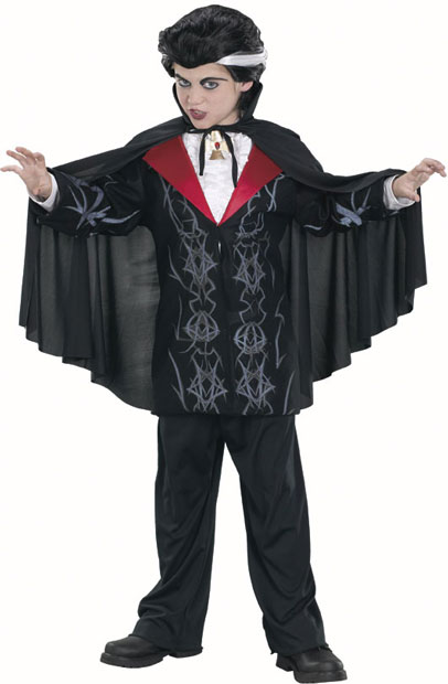Child's Vampire Cape Costume