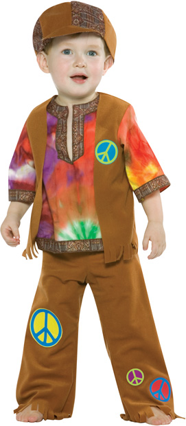 Toddler Hippie Boy Costume