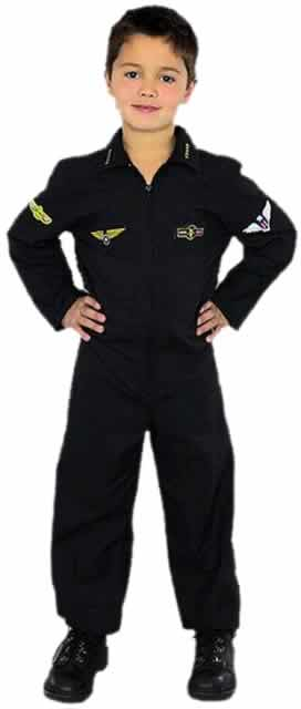 Childu0027s Air Force Stealth Pilot Costume  sc 1 st  Brands On Sale : air force costumes  - Germanpascual.Com