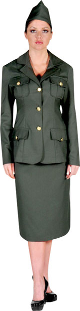 Women's WWI Army Uniform Theater Costume