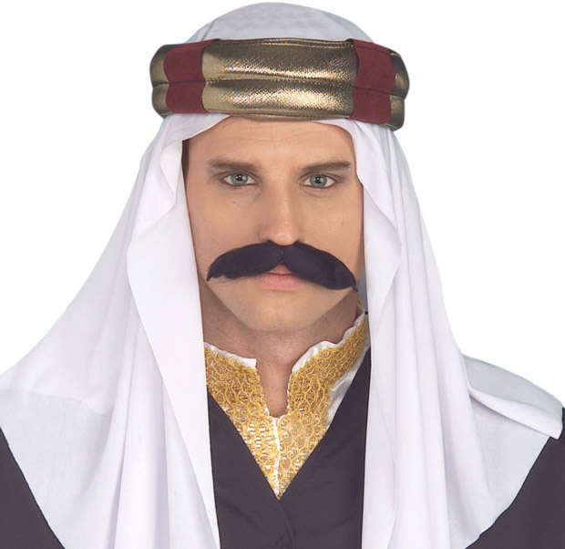 Arabian Sultan Costume Headpiece