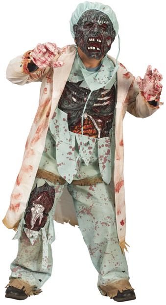 Child's Zombie Doctor Costume