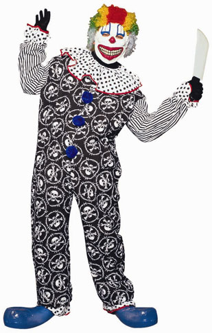 Adult Scary Clown Costume