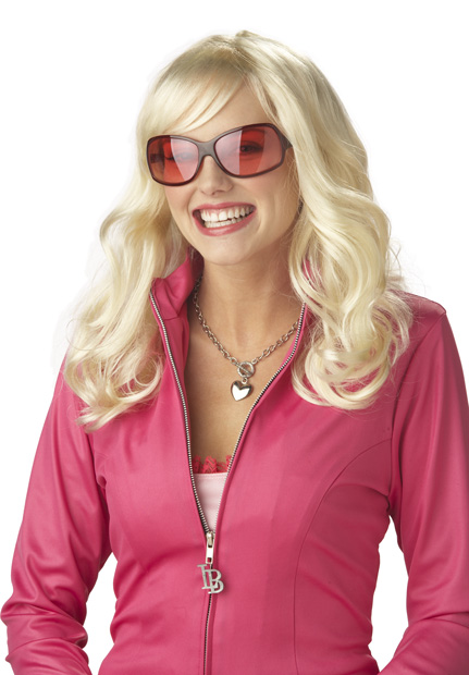 Woman's Legally Blonde Costume Wig