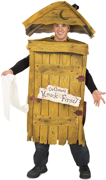 Adult Outhouse Costume