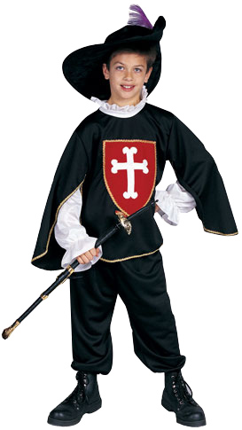 Child's Deluxe Musketeer Costume