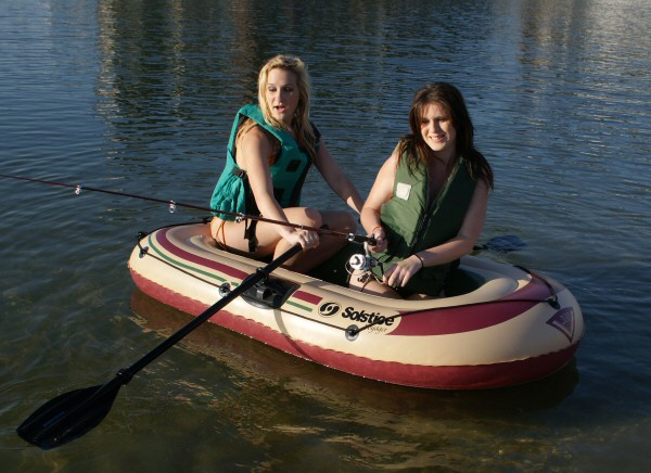 Solstice Voyager 2 Person Inflatable Boat