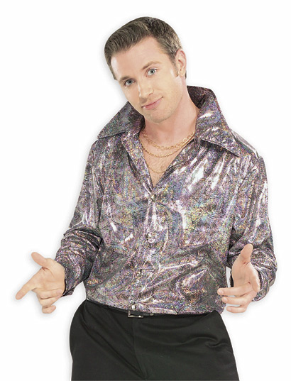 Adult Purple Disco Shirt