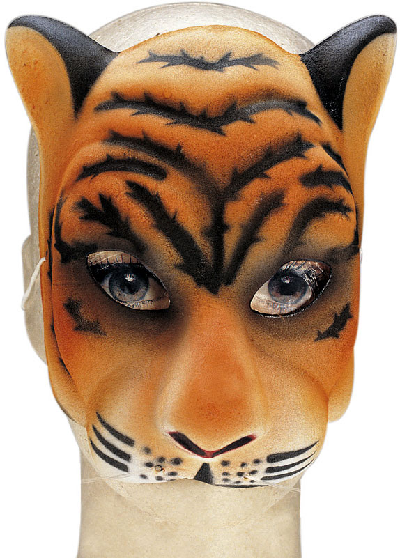Tiger Costume Face Mask