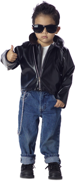 50s Boy's Toddler Greaser Costume