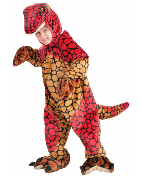 Child's Plush Raptor Costume