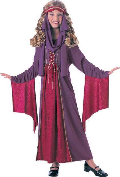 Child's Gothic Princess Costume