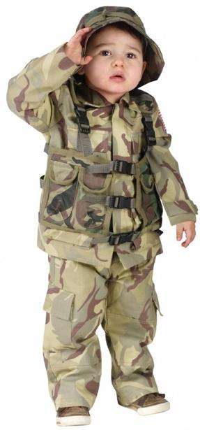 Toddler Delta Force Costume