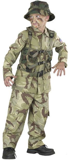 Child's Delta Force Costume